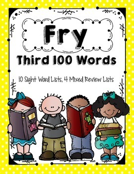 Fry 3rd 100 Words