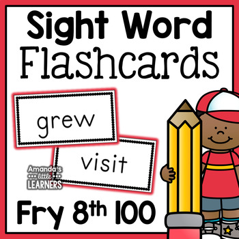 Fry Eighth Hundred Sight Word Flash Cards