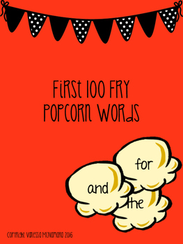 Fry First 100 Popcorn Words
