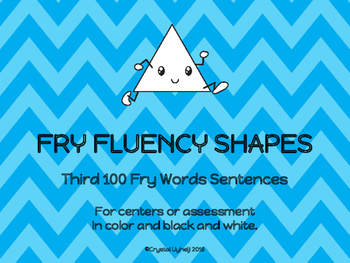 Fry Fluency Shapes - Third 100