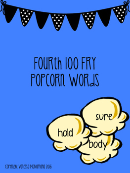 Fry Fourth 100 Popcorn Words