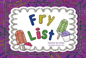 Fry List Second 100 words
