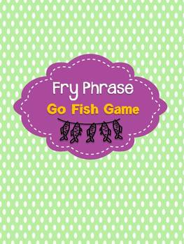 "Fluency ""Go Fish"" (Fry Phrases)"