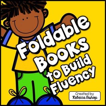 Fluency Foldable Mini Books