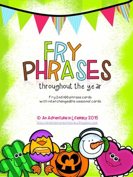 Fry Phrases Fluency Game - Second Hundred