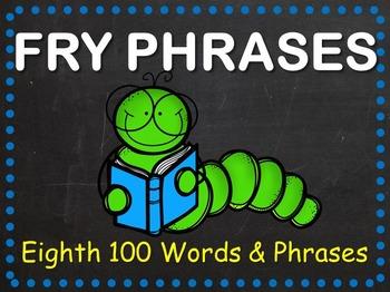 Fry Phrases Fluency Powerpoint - Eighth 100 Words