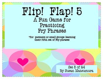 Fry Phrases Reading Game: Flip! Flap! 5