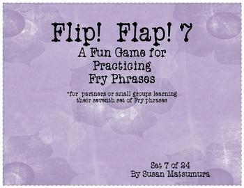 Fry Phrases Reading Game: Flip! Flap! 7