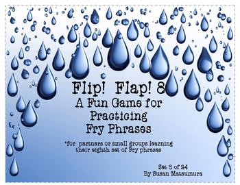 Fry Phrases Reading Game: Flip! Flap! 8