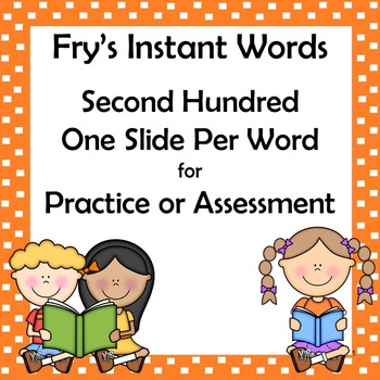 Fry Sight Words: Second 100 PDF Auto-Counting PDF Tracking