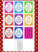 Fry Second Grade Sight Word Assessment Tracking And Binder Covers