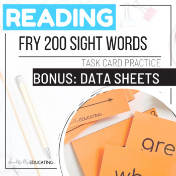 Fry Second Hundred Sight Words--Task Cards