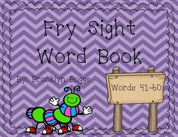 Fry Sight Word Book (Words 41-60)