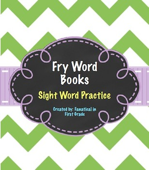 Fry Sight Word Books 700-1000