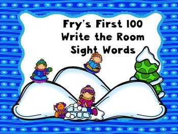 Write the room ~ Fry sight word activity