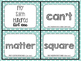 Fry Sixth Hundred Sight Words--Task Cards