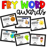 Fry Word Awards
