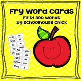 Fry Word Flash Cards-First 300