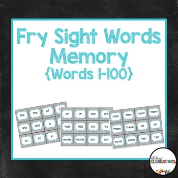 Fry Word Memory 1-100