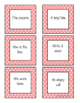 Fry Word Phrases - First 100 Words/Phrases