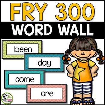Fry Word Wall Pack for 1st 300 Fry Words