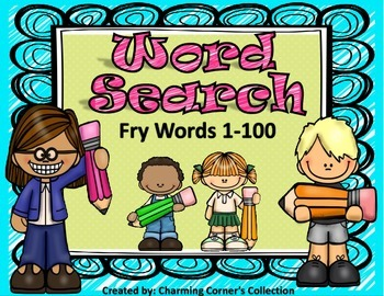 Fry Word (Word Search ~ Set 1)
