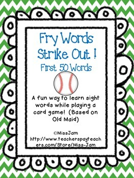 Fry Words 1-50 Strike Out!