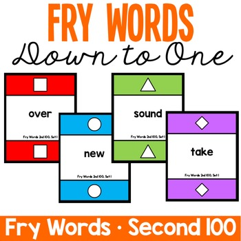 Fry Words - Down to One - Second 100