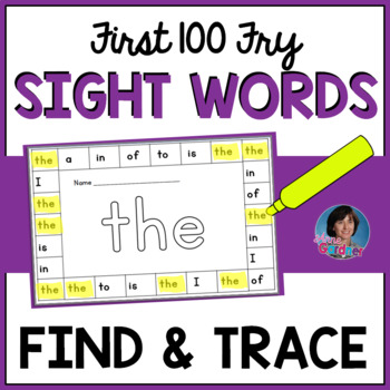 Fry Words ~ Rainbow It, Punch It, Read It!  (First Hundred