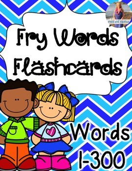 Fry Words / Sight Words Cards 1-300