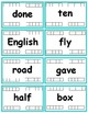 Fry Words - The Fifth Hundred (401-500) Flash cards with D