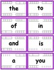 Fry Words - The First Hundred (1-100) Flash cards with Dat