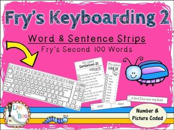 Fry's Keyboarding 2 - Sight Words & Sentence Strips - Fry'