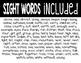Fry's Sight Word (201-300) Scramble