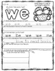 Fry's Sight Word Practice Worksheets-SET 1