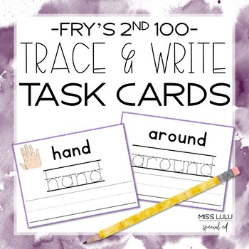 Fry's 2nd 100 Trace & Write Cards