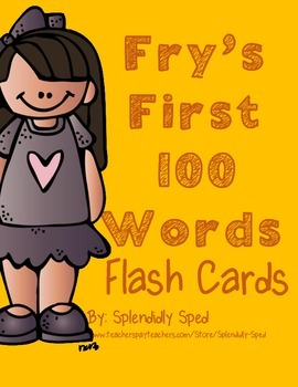Fry's First 100 Flashcards