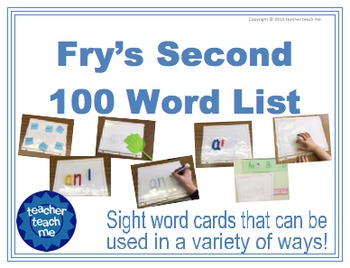 Fry's Second 100 Word List