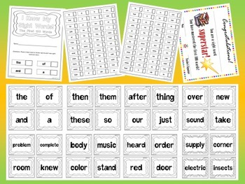 Fry's Second 500 Sight Words Flash Cards Mini Bundle by Ed