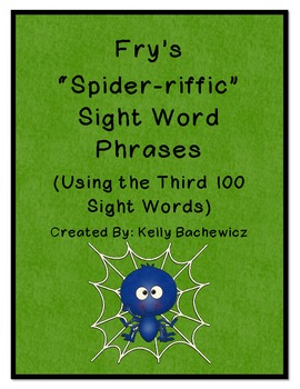 Fry's Sight Word Phrases-Third 100