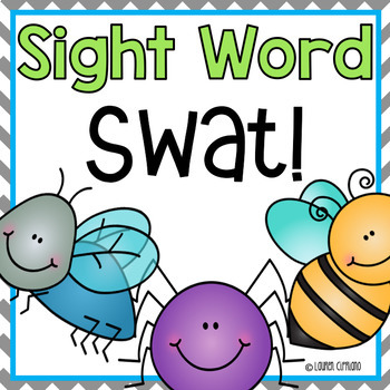 Fry's First TWO Hundred Words Sight Word Swat Game