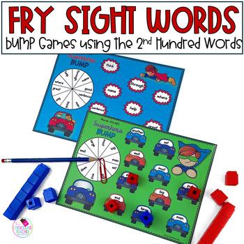 Fry's Words 100-200 BUMP Ten Games