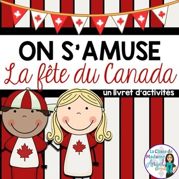 Fête du Canada:  Canada Day Activity Booklet in French
