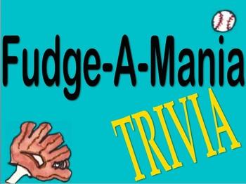 Fudge-A-Mania Trivia Game
