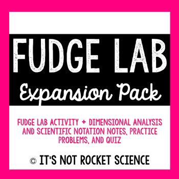 Dimensional Analysis: Fudge Lab Expansion Pack