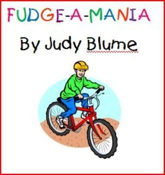 Fudge-a-mania ELA Common Core Unit