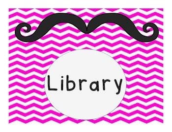 Full Center Rotation set in chevron and mustaches
