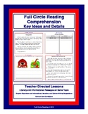 Full Circle Reading Comprehension - Key Ideas and Details