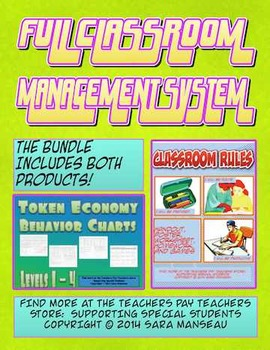 Full Classroom Behavior Management System with Rules and T