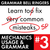 Full Semester #3 of Grammar, Proofreading Lessons to Impro
